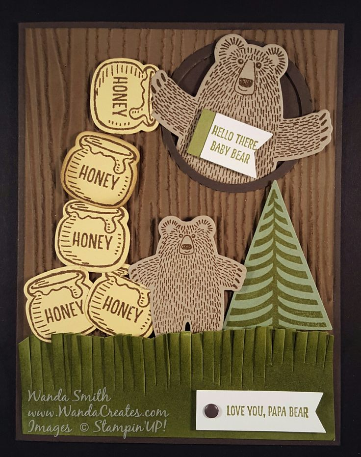 Bear Hugs Stampin'Up | Stamping All Night Long!
