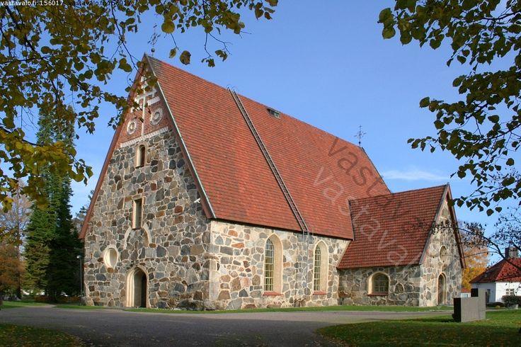 Sääksmäen keskiaikainen kivikirkko - Sääksmäki