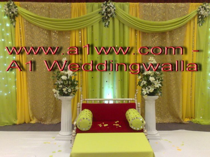 Mehndi Backdrop Ideas : How to backdrops for weddings decoration mehndi