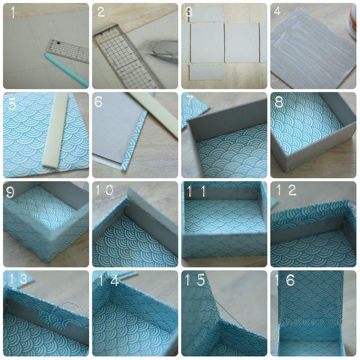 Fabriquer une boîte aux allures japonisantes {DIY}