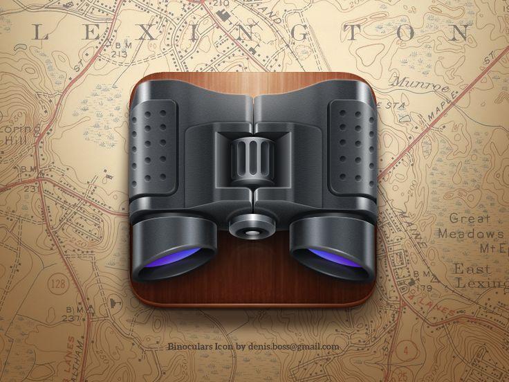 Binoculars iOS icon