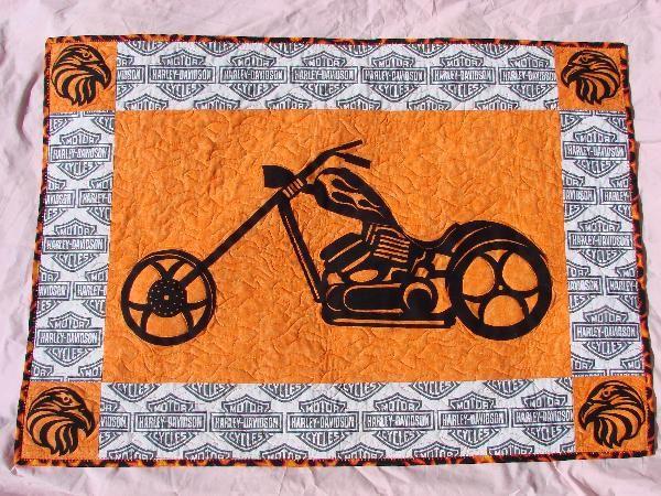 harley davidson sewing fabric