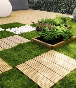 si quieres cambiar por completo el aspecto de tu jardn terraza porche