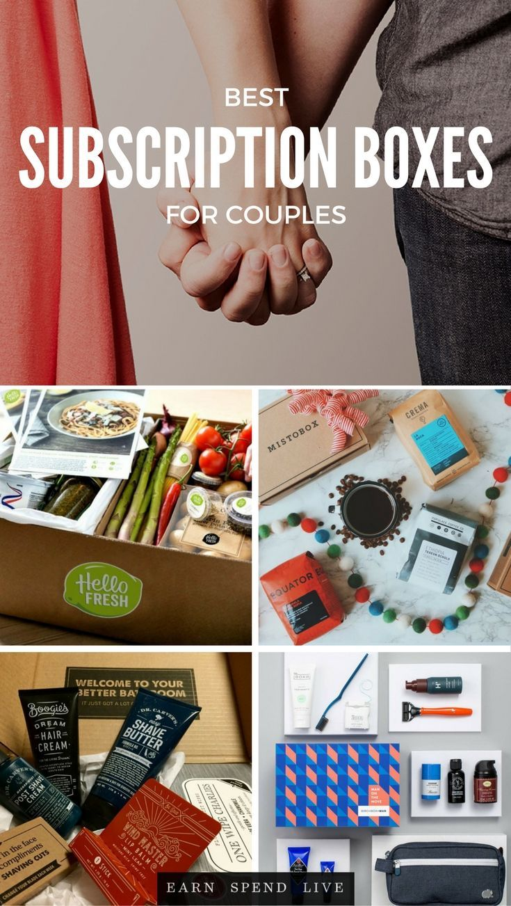 Searching for a fun, monthly subscription box you can share with your man? Here are 13 subscription boxes- for couples.