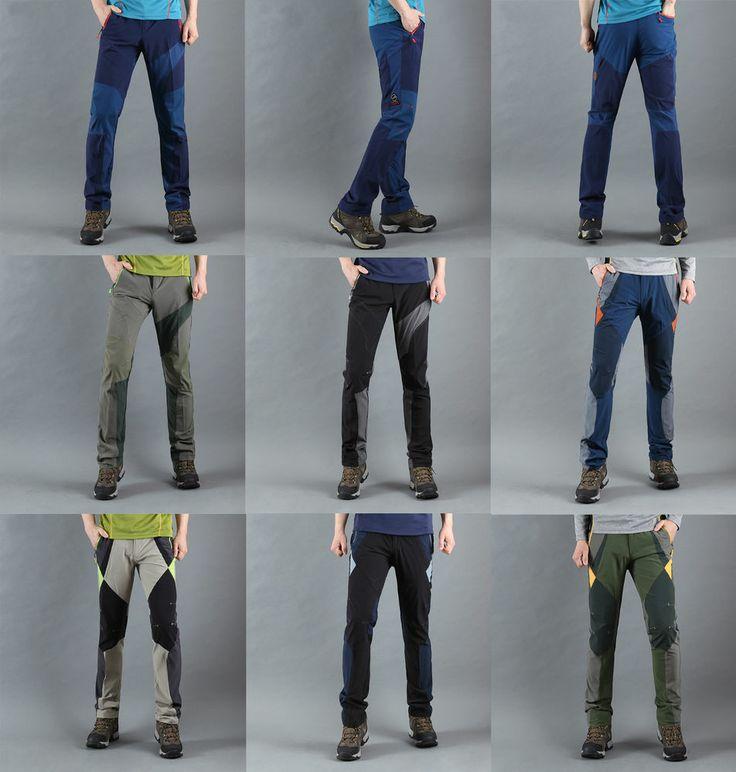 korea_top Mens hiking pants walking Trekking outdoor sport walking trousers