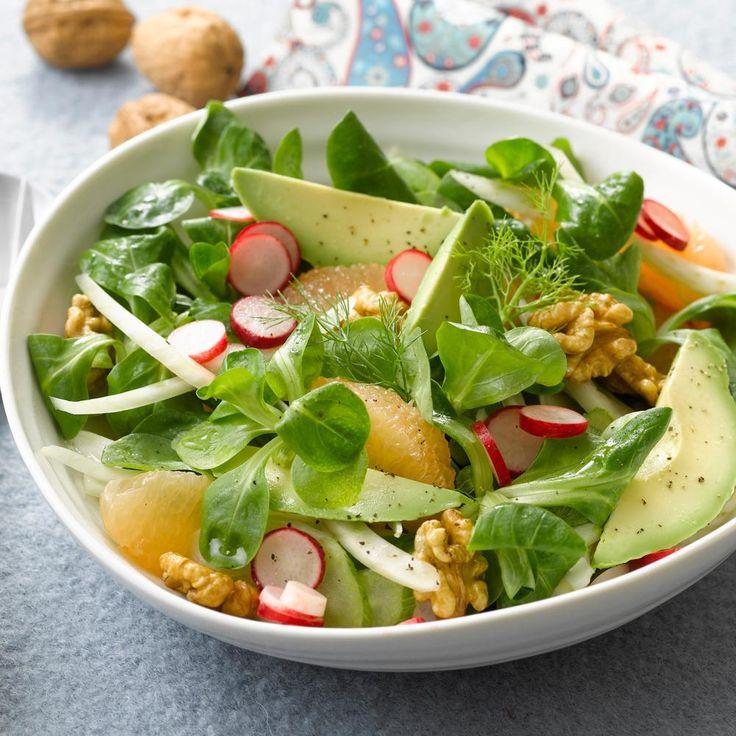 Варианты салатов для похудения