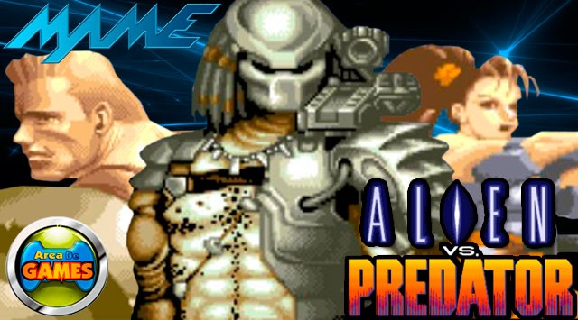 Alien vs Predator MAME (arcade game)