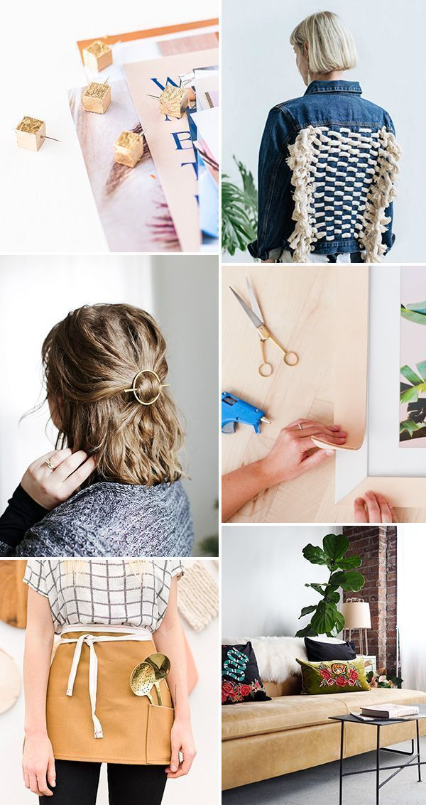 6 Weekend DIYs to Try #weekendprojects #diy #crafting #homeideas #fashionideas