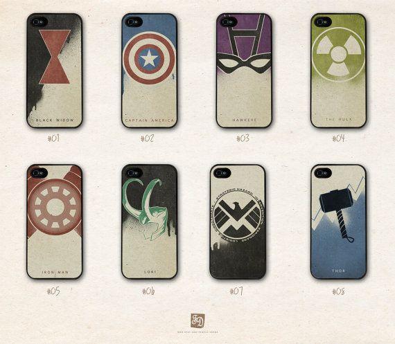 pretty nice 2e3f9 a486e iPhone 5 hard case the Avengers and Loki /choose one/ the Hulk ...