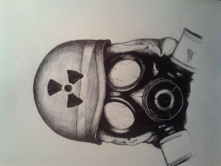 soldado con mascara antigas... por sacrestyle | Dibujando