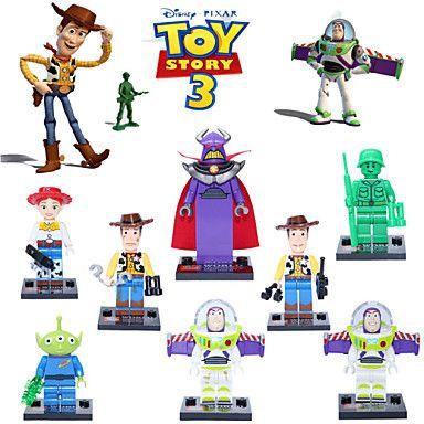Disney™ Pixar™ Set of 8 Toy Story Minifigure Models. Only at www.pandadeals.co.uk
