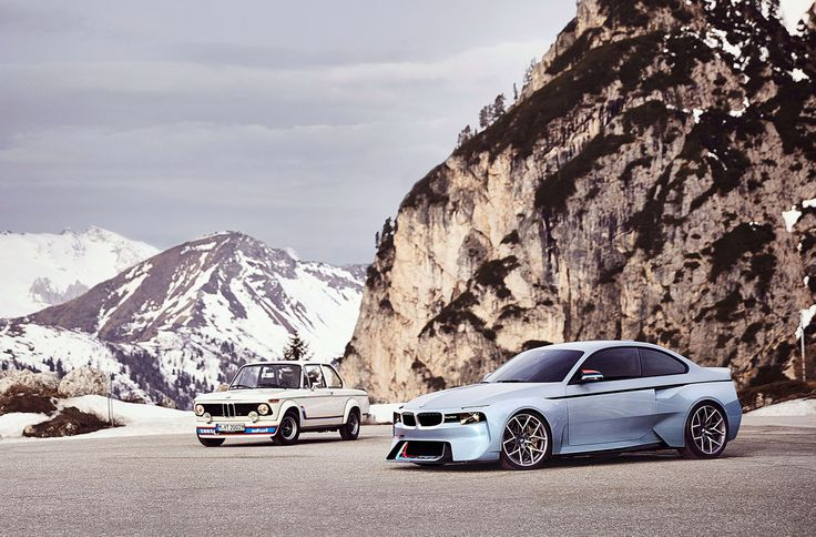 Image for BMW 2002 Hommage Concept for Background Wallpaper