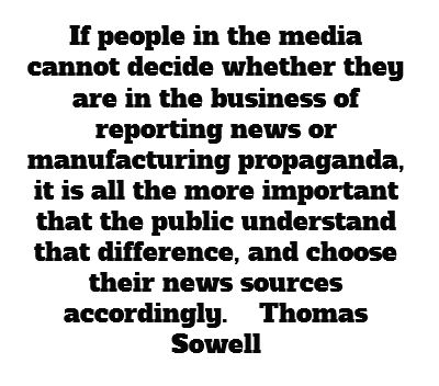 This is why so many of us choose to read several news sources, some from other countries, and compare the spin. If you know who owns the media outlet, you understand the agenda, and it's not limited to left or right. Both have their agendas.  The United States is having some major problems with integrity in journalism today because it is ruled by the almighty dollar.