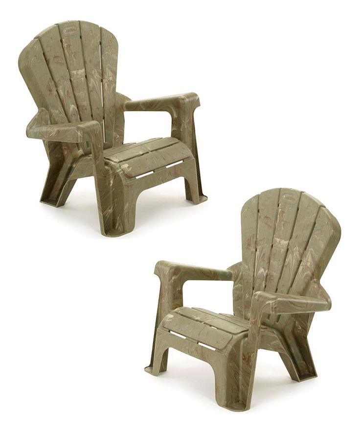 Love This Little Tikes Camouflage Garden Chair Set Of