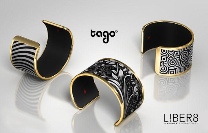 Tago Arc Bracelet. Smart Jewelry by LIBER8 #wearabletech