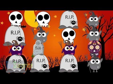 patrones musicales de halloween. Canción para niños en español - YouTube