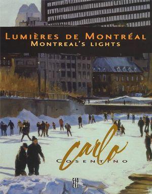 Les toiles de Carlo Cosentino, peintre des ambiances et de la lumière, racontent Montréal à travers ses lieux, ses habitants, ses saisons et ses couleurs. Découvrer Montréal avec ce magnifique livre rassemblant les huiles d'un peintre amoureux de sa ville.Né à Montréal en 1958, Carlo Cosentino pratique le métier d'artiste peintre et de sculpteur depuis 1980. Il a présenté plusieurs expositions au Canada et à l'étranger. Il est représenté en permanence dans plusieurs galeries d'art au Canada…