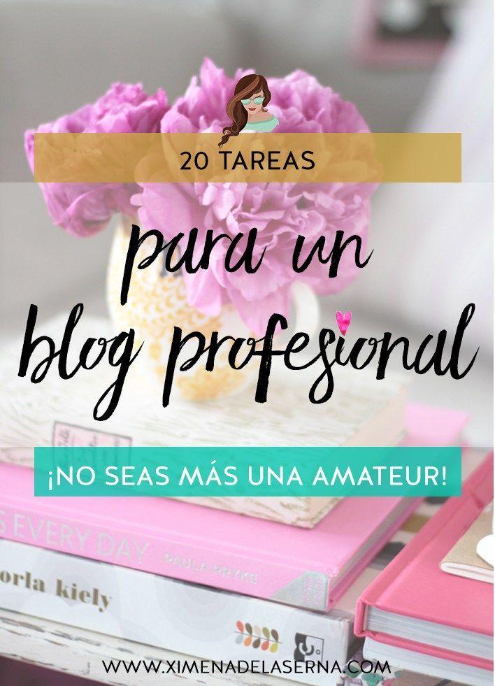 20 tareas para empezar el año con un blog profesional (y dejar de ser amateur)
