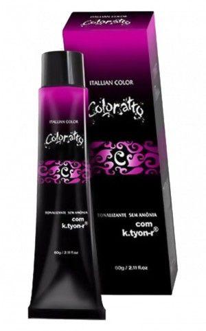 Tonalizante Itallian Coloratto 5.0 Castanho Claro 60g