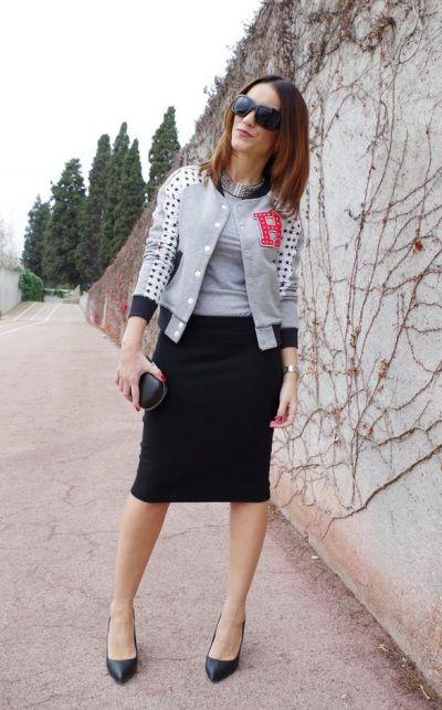 С чем носить бомбер / женская куртка бомбер: советы, фото | Блог о рукоделии и…