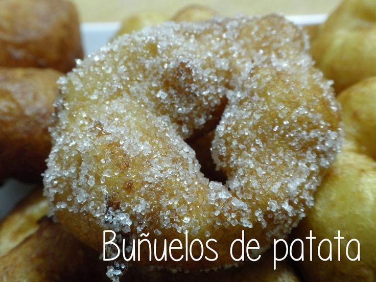 """Buñuelos de patata de """"Las cosas de mi cocina"""""""