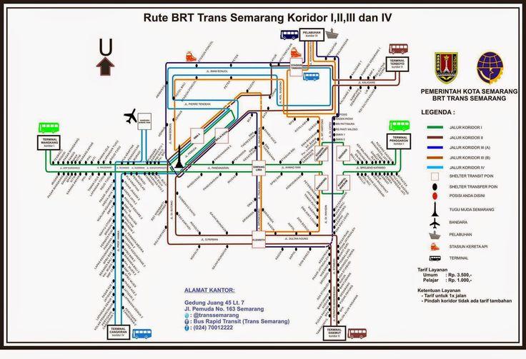 Jalur Bus Rapid Trans Semarang