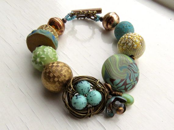 Nest Called Home  handmade bracelet bead bracelet by songbead, £44.00