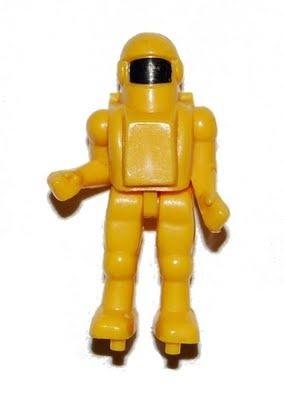 TENTE Yellow Astronaut