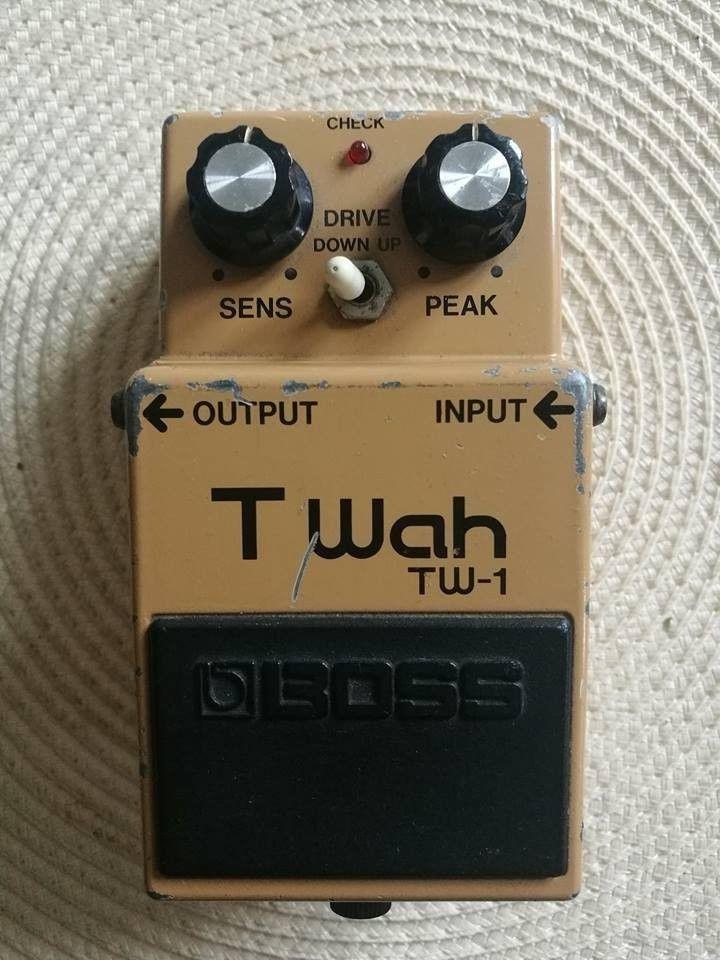 Boss Tw1 Rare Vintage Japanese Guitar Effects Pedal Guitar Effects Pedals Guitar Pedals Japanese Guitar