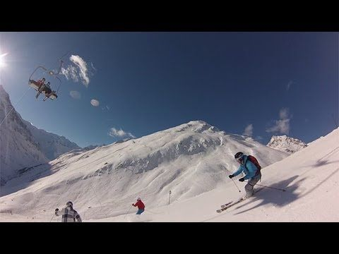 Skiing in #Pitztal #Rifflsee and #Hochzeiger. Great place for winter sports!