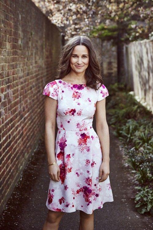 Pippa Middleton charity bike ride | Designs dress and scarf for British Heart Foundation | Harper's Bazaar