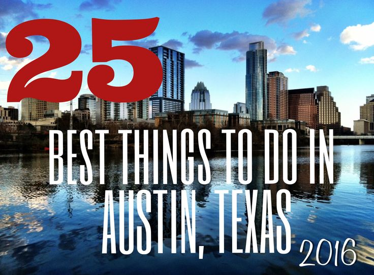 The Best Things To Do Austin, TX Guide. Includes: Destinations, Tours, Restaurants, Outdoors and More