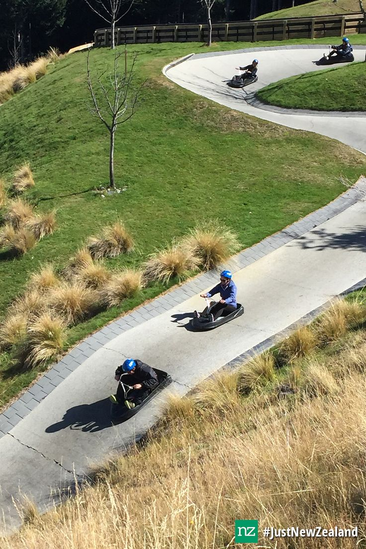 The Luge is a must do when visiting Queenstown! #NZ #Queenstown #SkylineLuge #Luge #fun #adventure