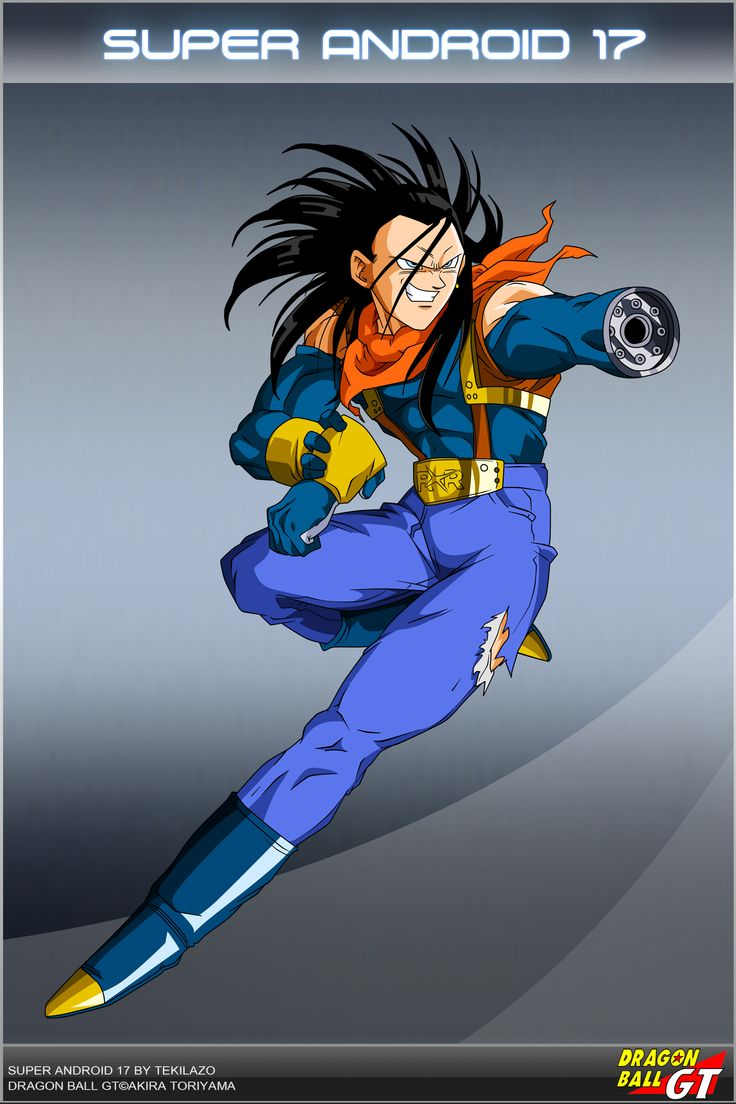 Dragon Ball GT - Super A17 by DBCProject.deviantart.com