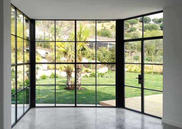House Steel Windows Design