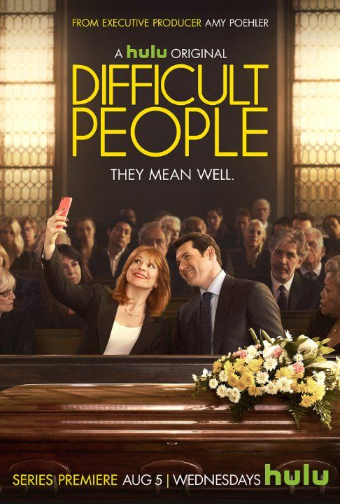 """"""" Watch below the first trailer for Hulu's comedy Difficult People,  excutive produced by Amy Poehler starring Billy Eichner and Julie Klausner  as two best ..."""