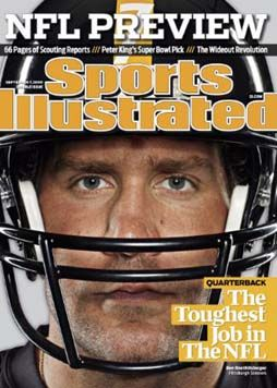 Ben Roethlisberger - Pittsburgh Steelers (SI Cover)