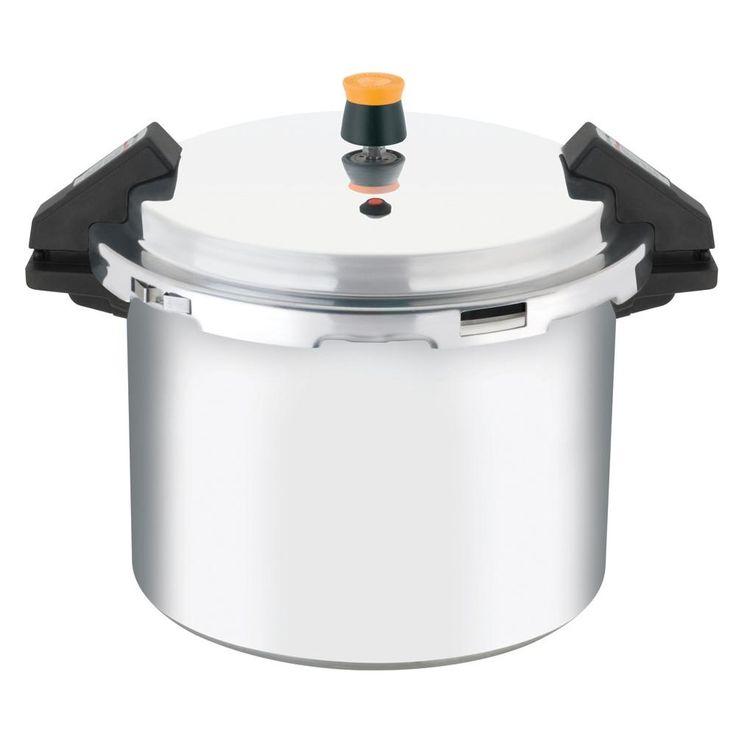 Panela de Pressão 20,8 Litros Polida de Alumínio com Fechamento Externo Turbo Pro - Rochedo - Rochedo com o melhor preço é no Walmart!