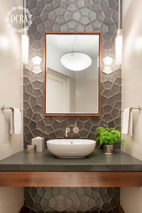 Ideas de baños en 2020 | Diseño de baños modernos, Espejos ...