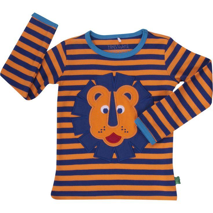 Freds World t-shirt med løve