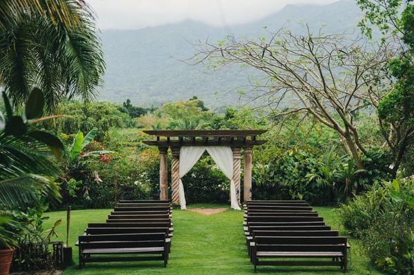 outdoor puerto rican weddings // via ruffledblog.com