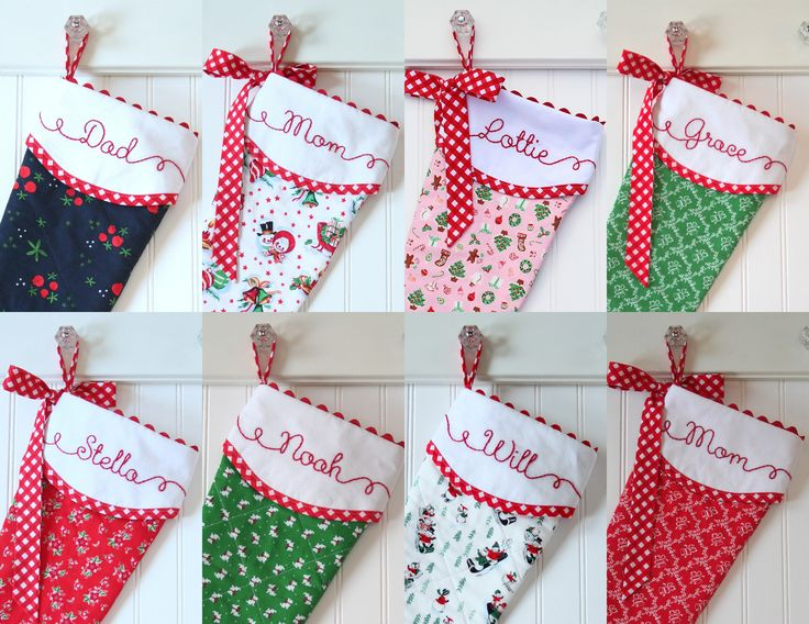 Charming Monogrammed Christmas Stockings Part - 10: Christmas Stockings, Personalized Christmas Stockings, Monogrammed  Christmas Stocking, Christmas Stocking Personalized, Family