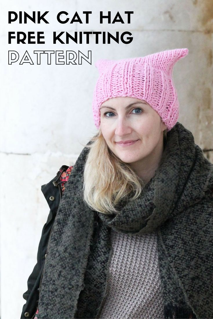 1000 images about free knitting patterns on pinterest game of thrones free ravelry and - Free cat hat knitting pattern ...