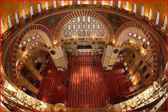 Süleymaniye Camisi, İstanbul. Architect- Mimar Sinan