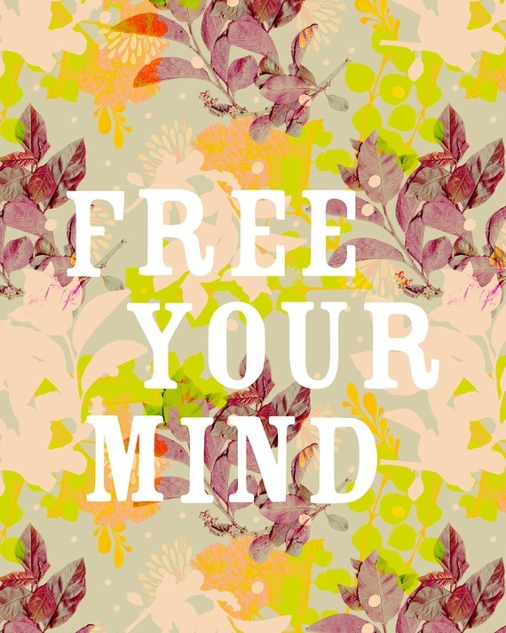 Free Your Mind print from The Wheatfield. $15