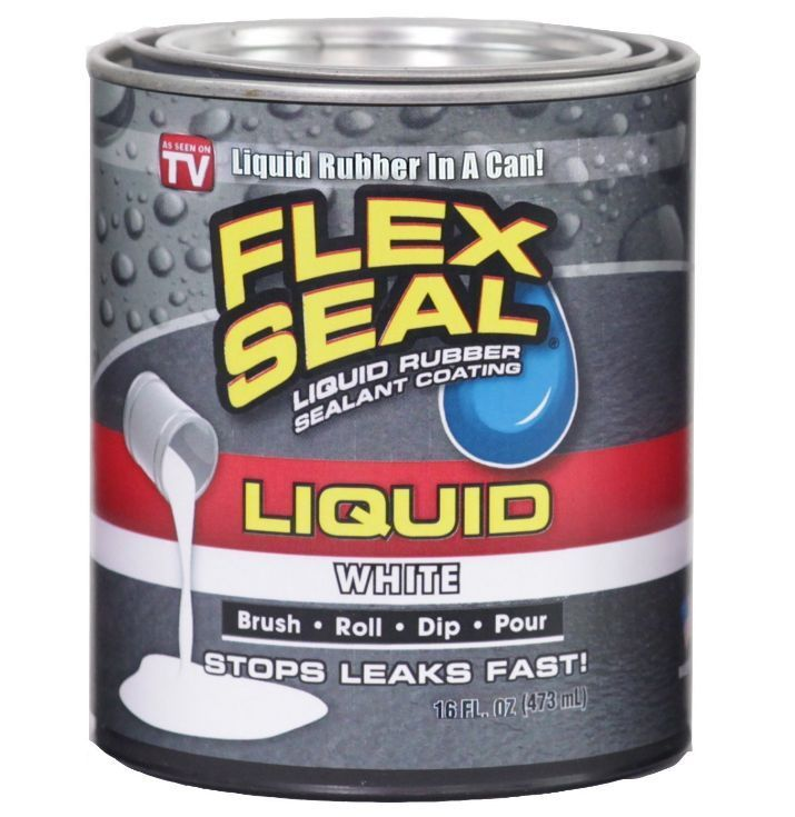 FLEX SEAL® LIQUID is a patent pending, proprietary formulation that starts out as a thick liquid and dries to a super strong, flexible, watertight rubberized coating. FLEX SEAL® LIQUID can be brushed, rolled, dipped or poured to create a high performance protective rubber barrier that blocks out air, water and moisture on a variety of surfaces and objects. | eBay!