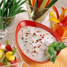 Thanks Real California Milk for this great Mediterranean Yogurt Dip #recipe.