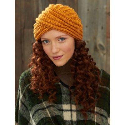 Turban Twist Hat - Free Crochet Pattern. Pattern