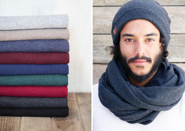 "via en.dawanda.com Scarves – Scarf merino wool ""Jolle"" // 9 colors – a unique product by pikfine on DaWanda"