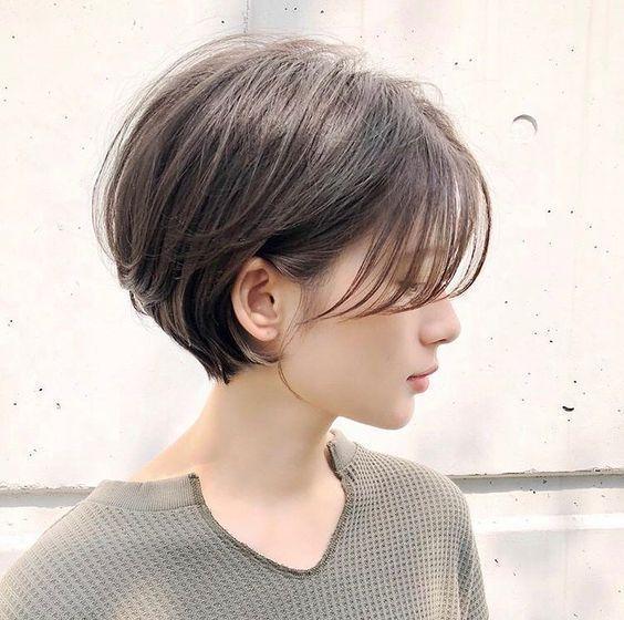 67+ coupes de cheveux courtes mignonnes pour les femmes en 2019 #cute #haircuts #hairstyle #hairstyle …